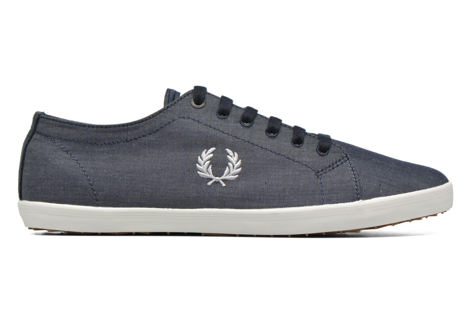 Sneakers Fred Perry Kingston Chambray Blauw achterkant