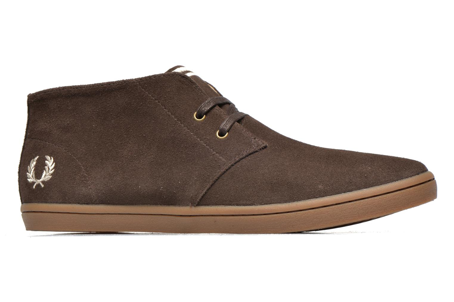 Fred Perry Byron Mid Suede Bruin