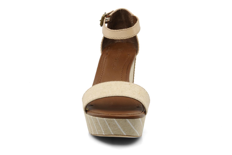 Sandalen Marc O'Polo Meyli beige schuhe getragen