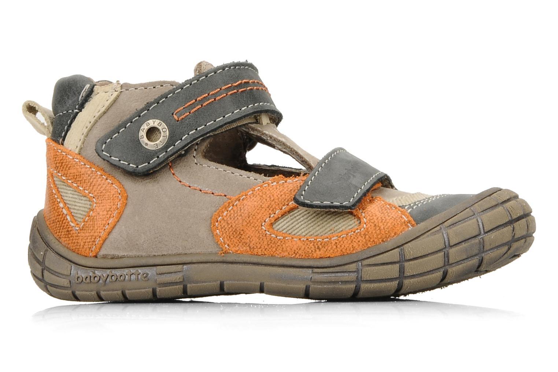 Chaussures à scratch Babybotte Stanislas Marron vue derrière
