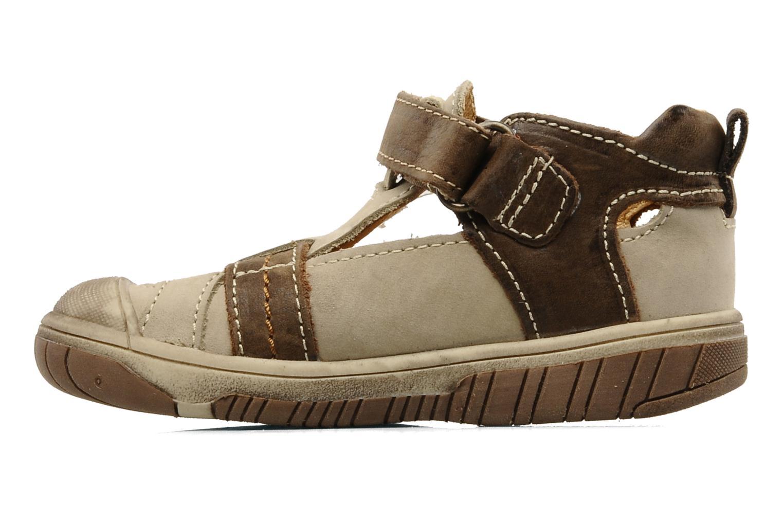 Sneakers Babybotte Sheridan Beige se forfra