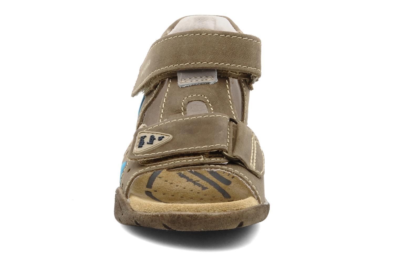 Sandales et nu-pieds Babybotte Tedi Marron vue portées chaussures