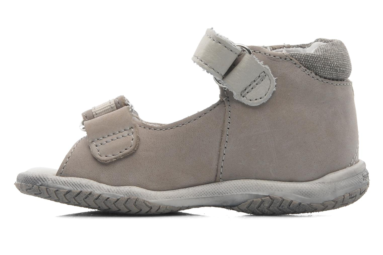 Sandalen Babybotte Tabarli grau ansicht von vorne