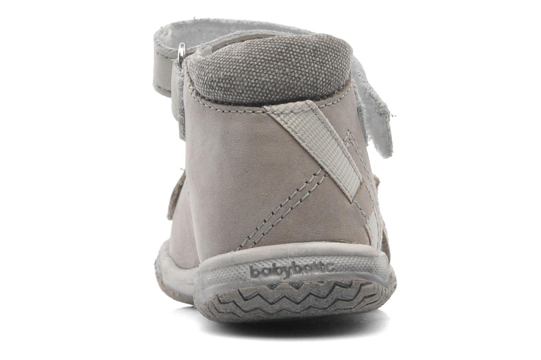 Sandalen Babybotte Tabarli grau ansicht von rechts