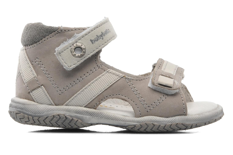 Sandales et nu-pieds Babybotte Tabarli Gris vue derrière
