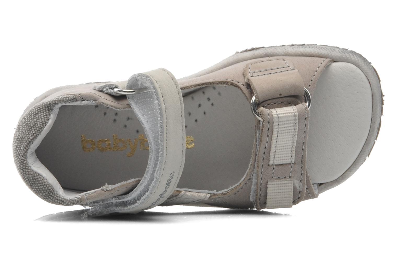 Sandalen Babybotte Tabarli grau ansicht von links