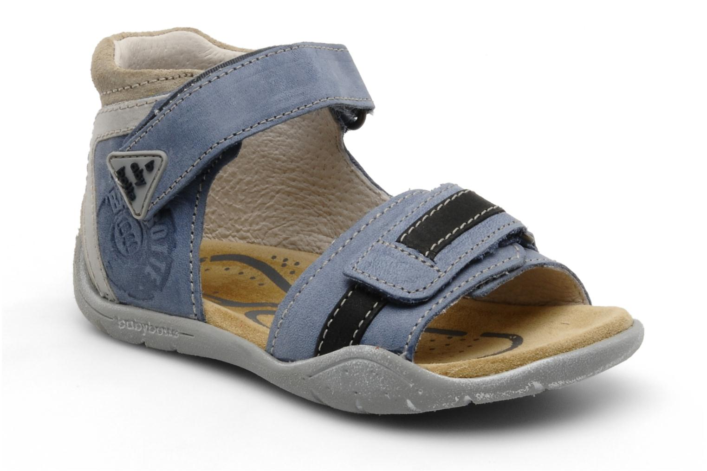 Sandalen Babybotte Tigre Blauw detail