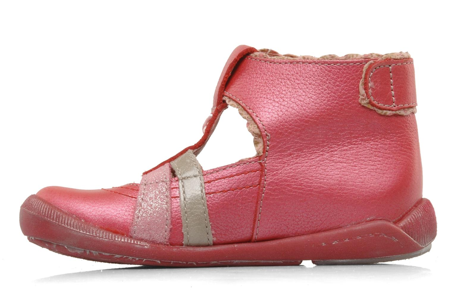 Summer boots Babybotte Sibel Red front view