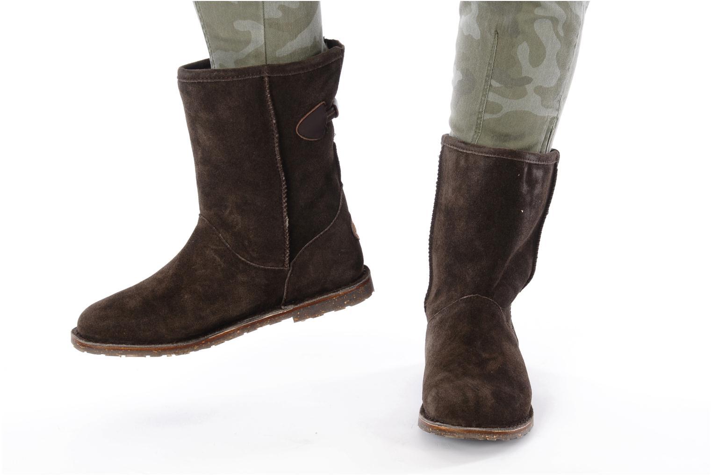 Stiefeletten & Boots Emu Australia DUTTON LO braun ansicht von unten / tasche getragen