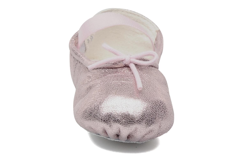 Ballerines Bloch Baby Angelica Rose vue portées chaussures