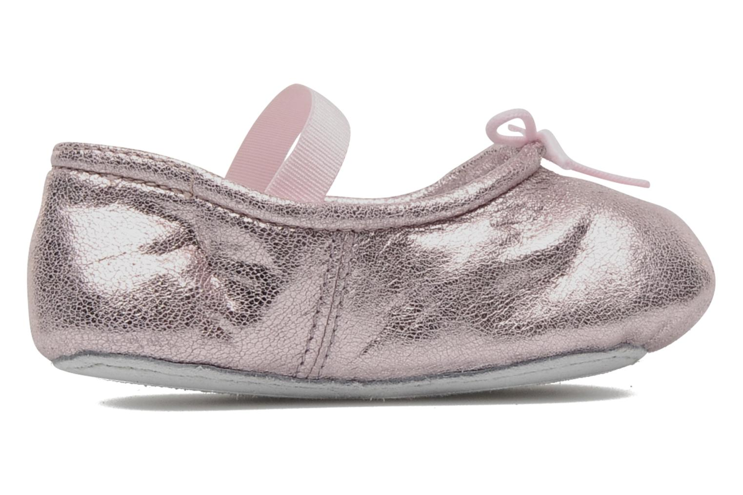 Ballet pumps Bloch Baby Angelica Pink back view