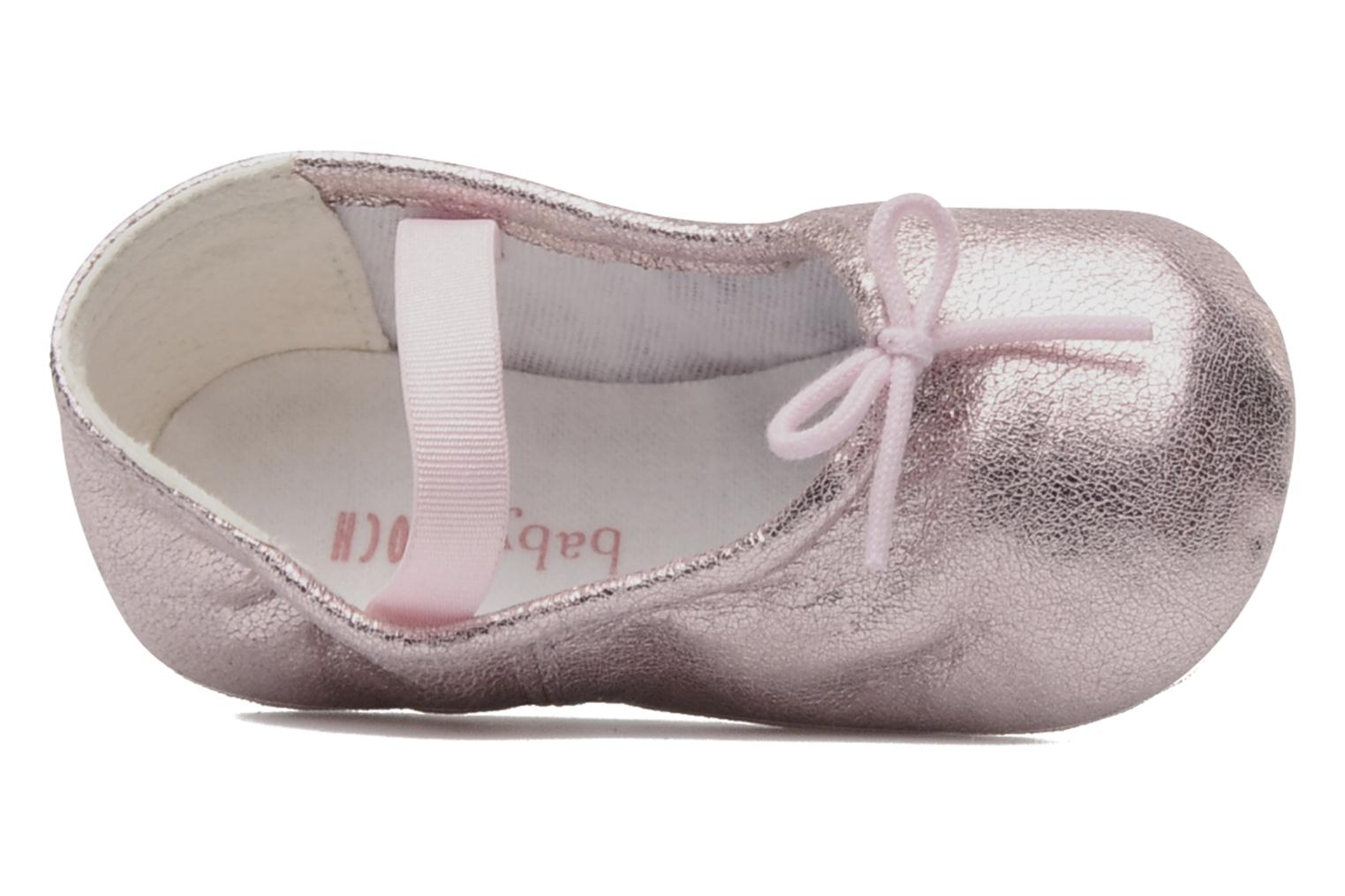 Ballet pumps Bloch Baby Angelica Pink view from the left