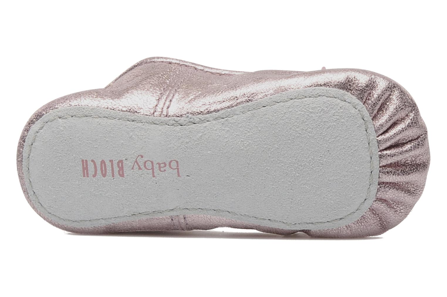 Ballet pumps Bloch Baby Angelica Pink view from above