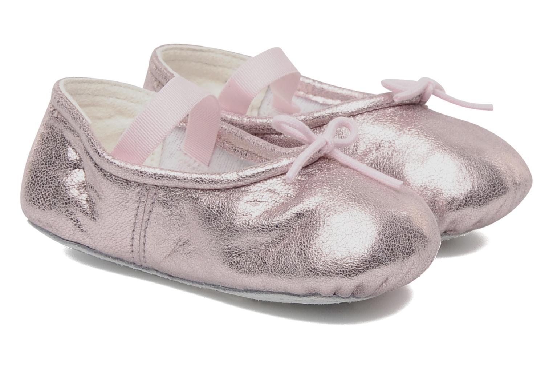 Ballerinaer Bloch Baby Angelica Pink detaljeret billede af skoene