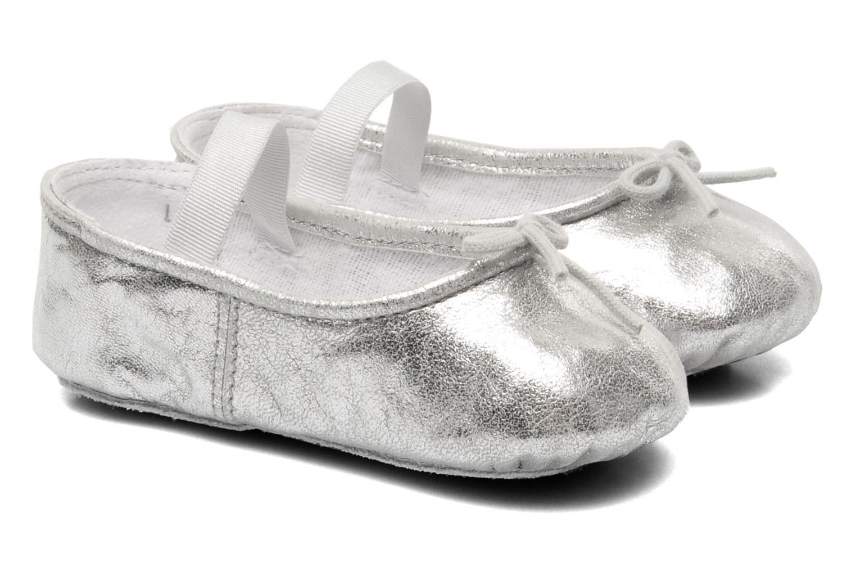 Ballerina's Bloch Baby Angelica Zilver detail