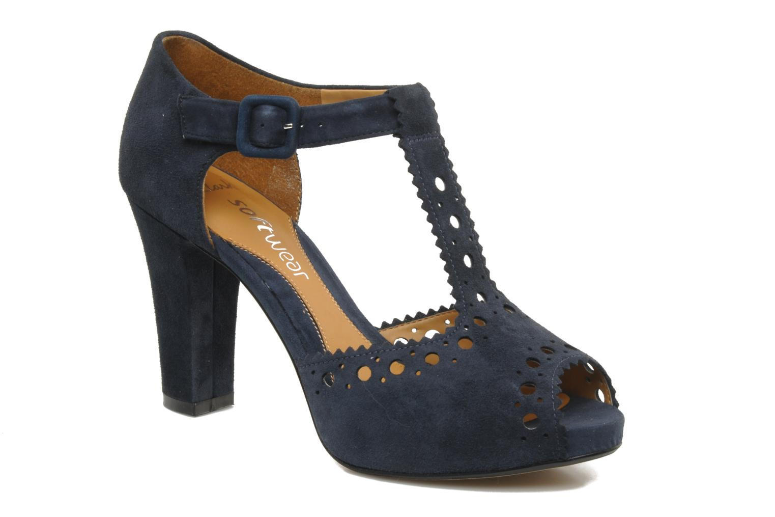 Dollar Craze Navy Suede