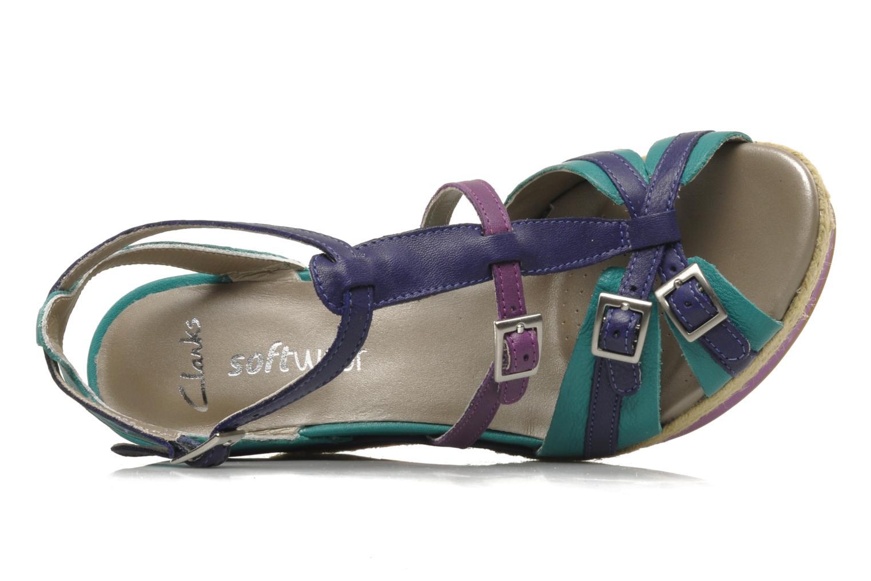 Sandali e scarpe aperte Clarks Scent Trail Multicolore immagine sinistra