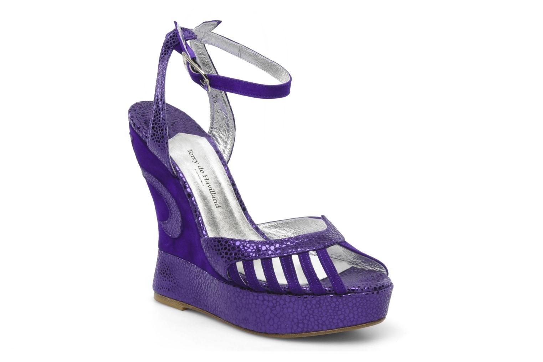 Grandes descuentos últimos zapatos Terry de Havilland Margaux (Violeta     ) - Sandalias Descuento