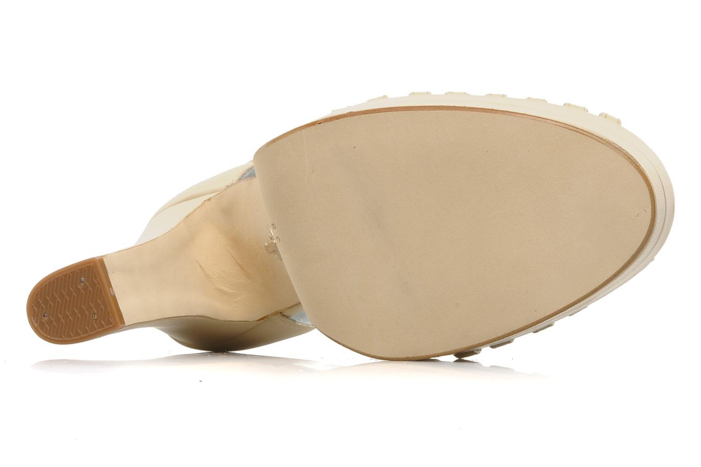 Charlie Cream Leather