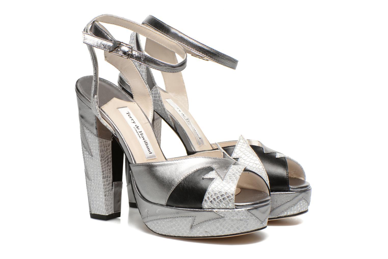 Sandali e scarpe aperte Terry de Havilland Zia Grigio immagine 3/4