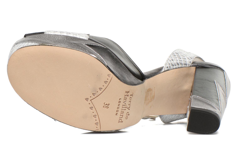 Sandali e scarpe aperte Terry de Havilland Zia Grigio immagine dall'alto