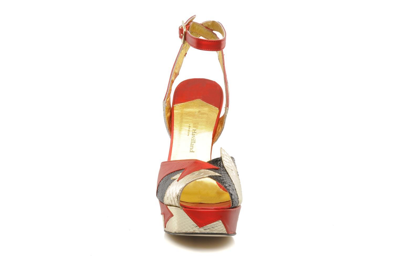 Sandales et nu-pieds Terry de Havilland Zia Multicolore vue portées chaussures