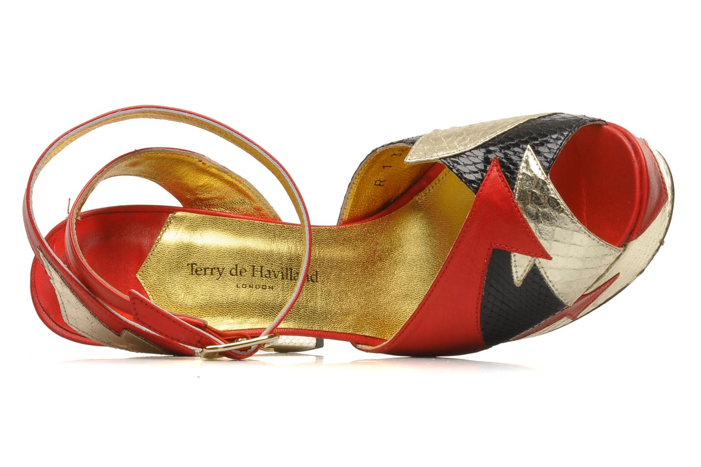 Sandales et nu-pieds Terry de Havilland Zia Multicolore vue gauche