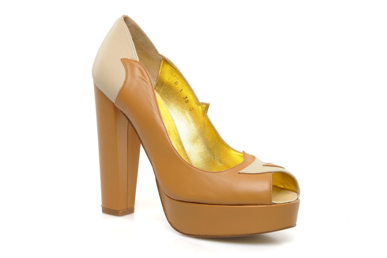 Høje hæle Terry de Havilland Carina Beige detaljeret billede af skoene
