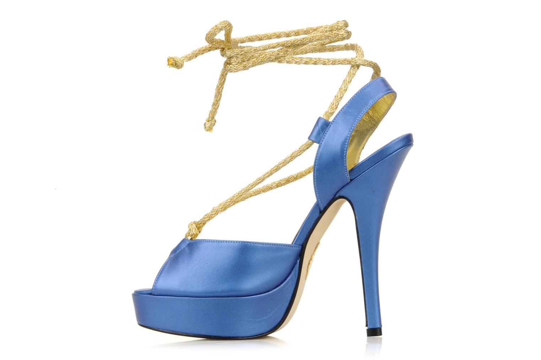 Sandali e scarpe aperte Terry de Havilland Lisette Azzurro immagine frontale