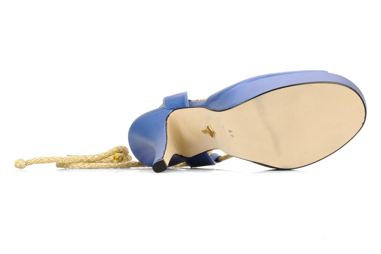 Sandalen Terry de Havilland Lisette Blauw boven