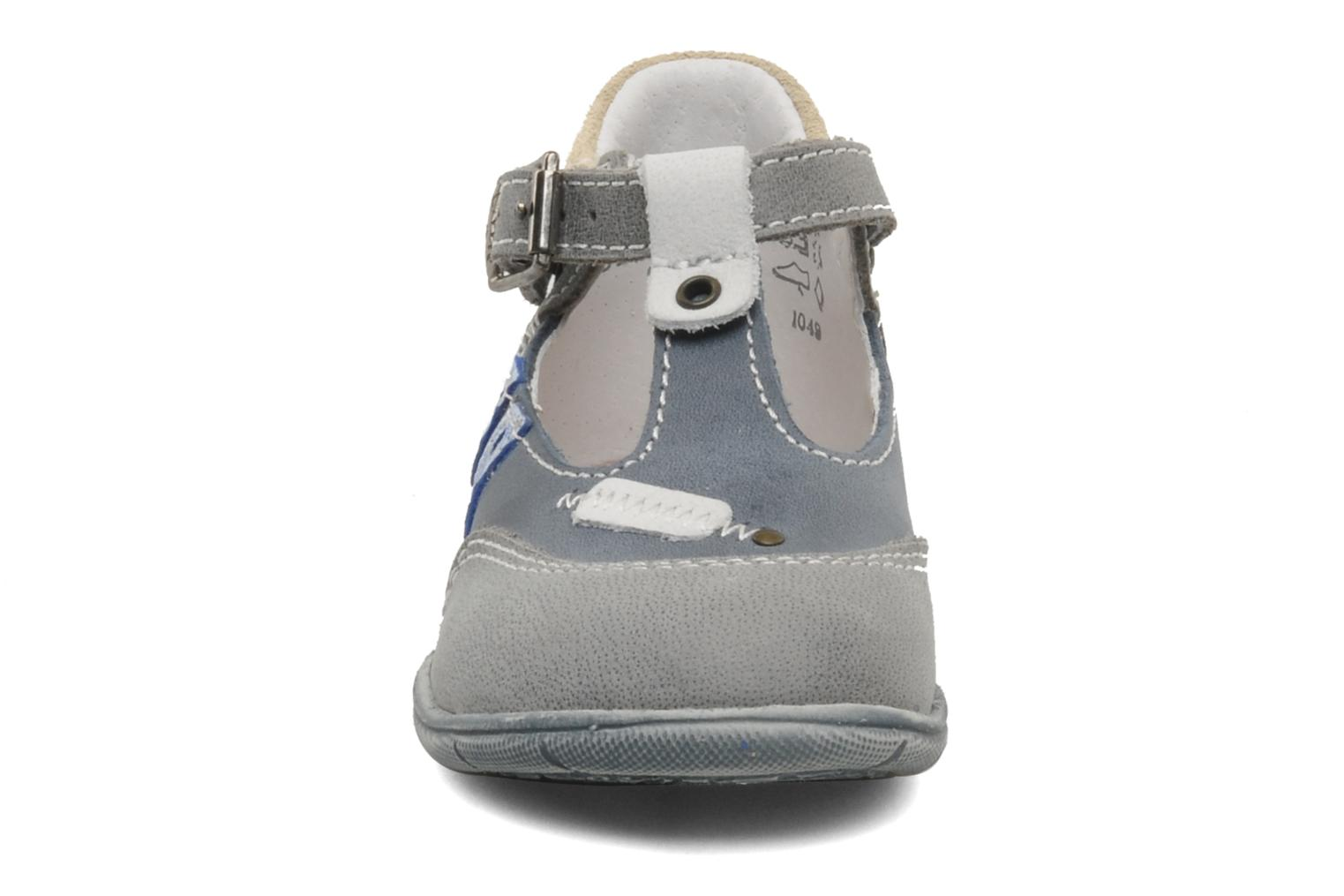 Summer boots Little Mary Jazz Grey model view