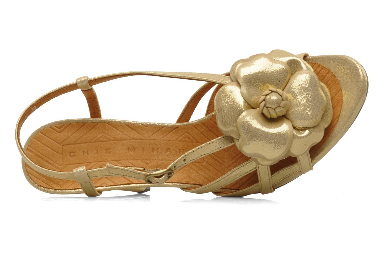 Sandalen Chie Mihara Vossa gold/bronze ansicht von links