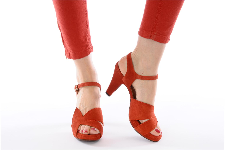 Sandali e scarpe aperte Chie Mihara Xoni Arancione immagine dal basso