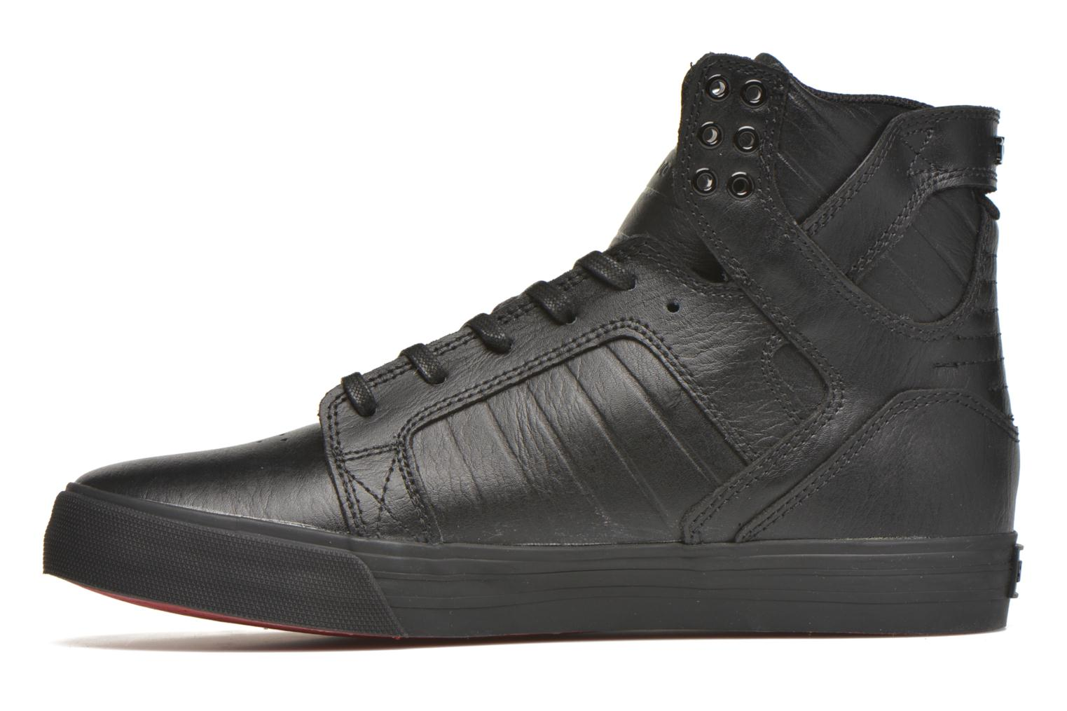Trainers Supra Skytop Black front view