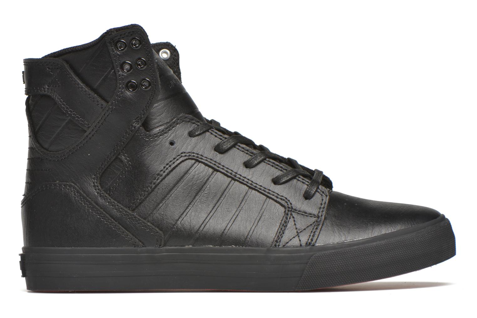 Trainers Supra Skytop Black back view