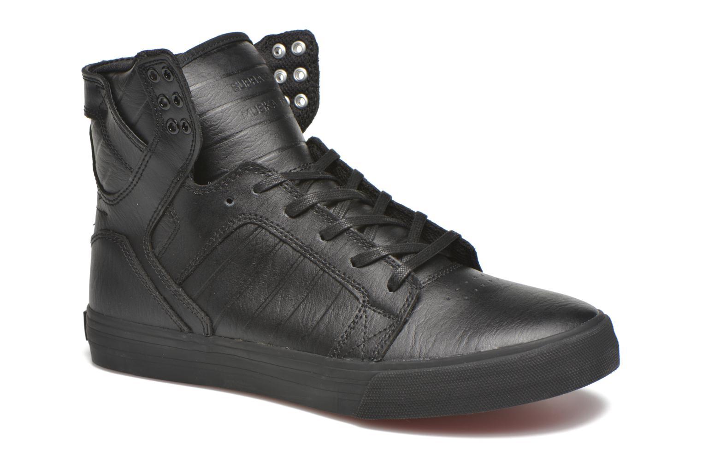 Sneaker Supra Skytop schwarz detaillierte ansicht/modell