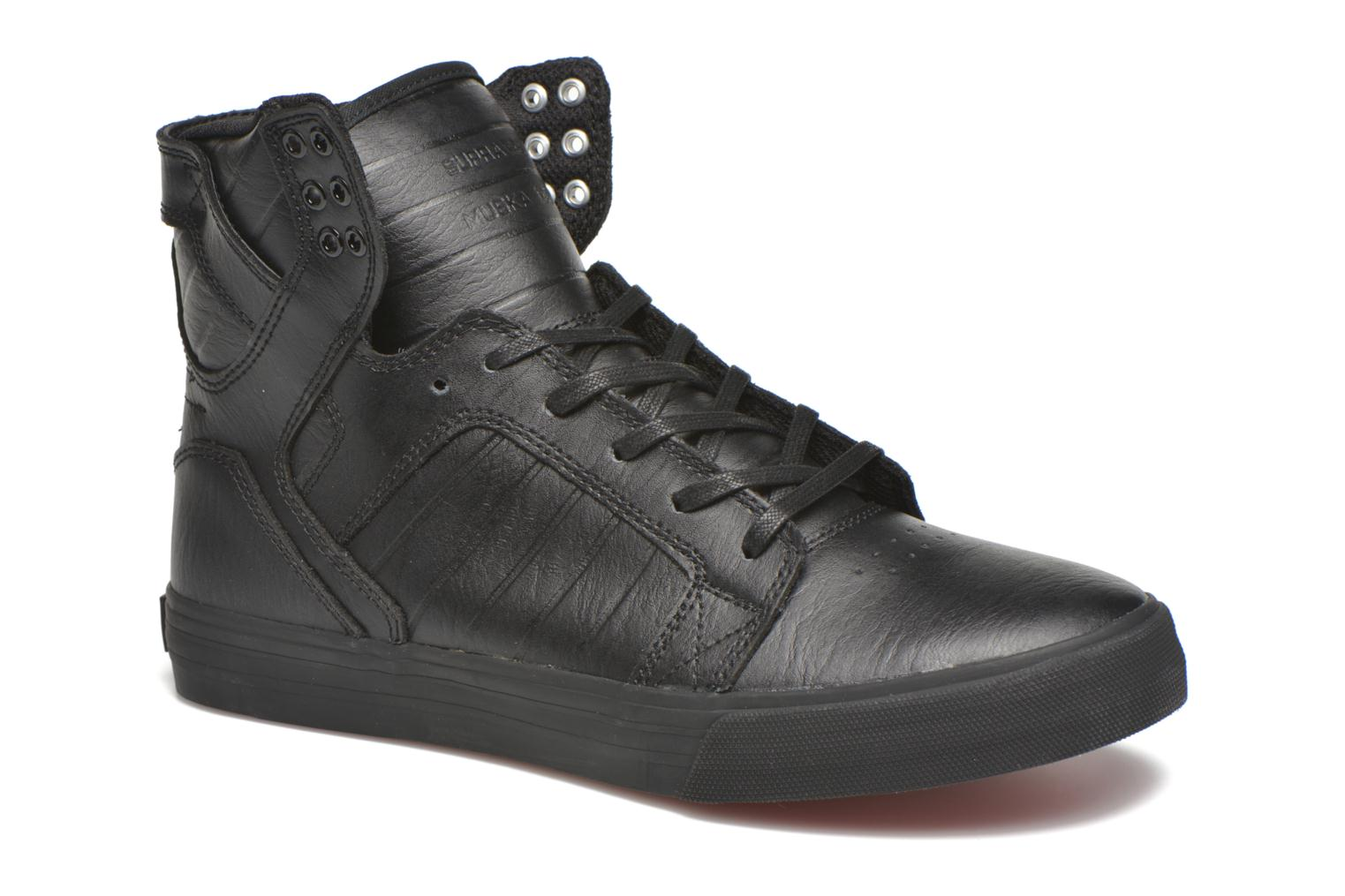 Trainers Supra Skytop Black detailed view/ Pair view