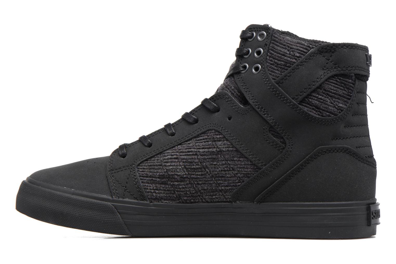 Sneakers Supra Skytop Sort se forfra