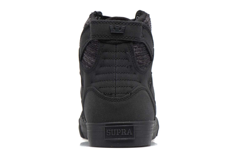 Sneakers Supra Skytop Sort Se fra højre