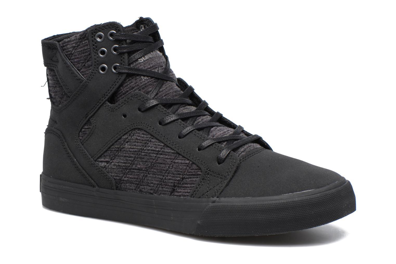 Sneakers Supra Skytop Sort detaljeret billede af skoene