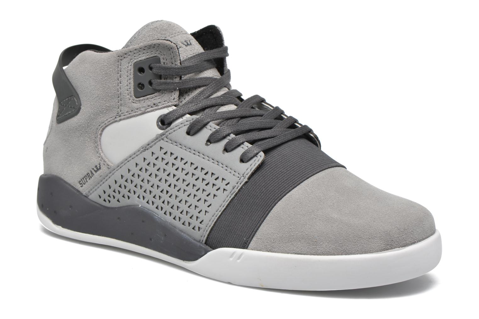 Sport shoes Supra Skytop III Grey detailed view/ Pair view