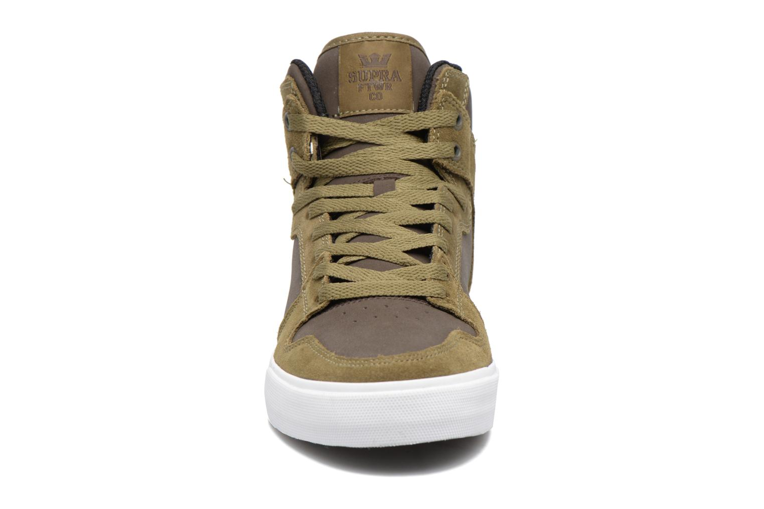 Trainers Supra Vaider Green model view