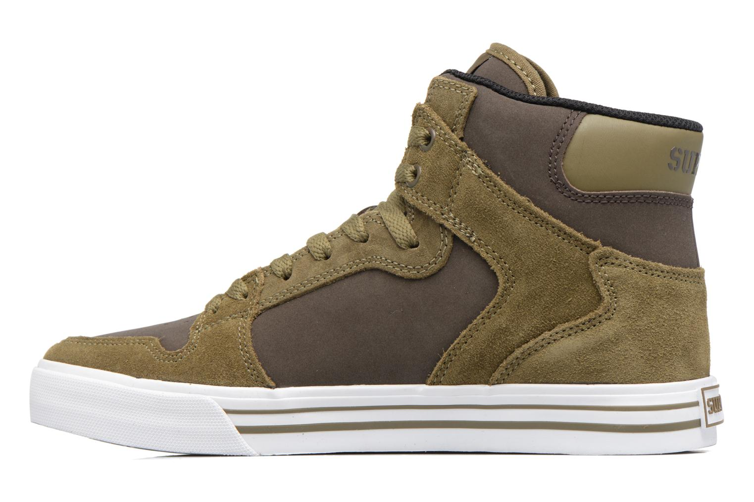Trainers Supra Vaider Green front view