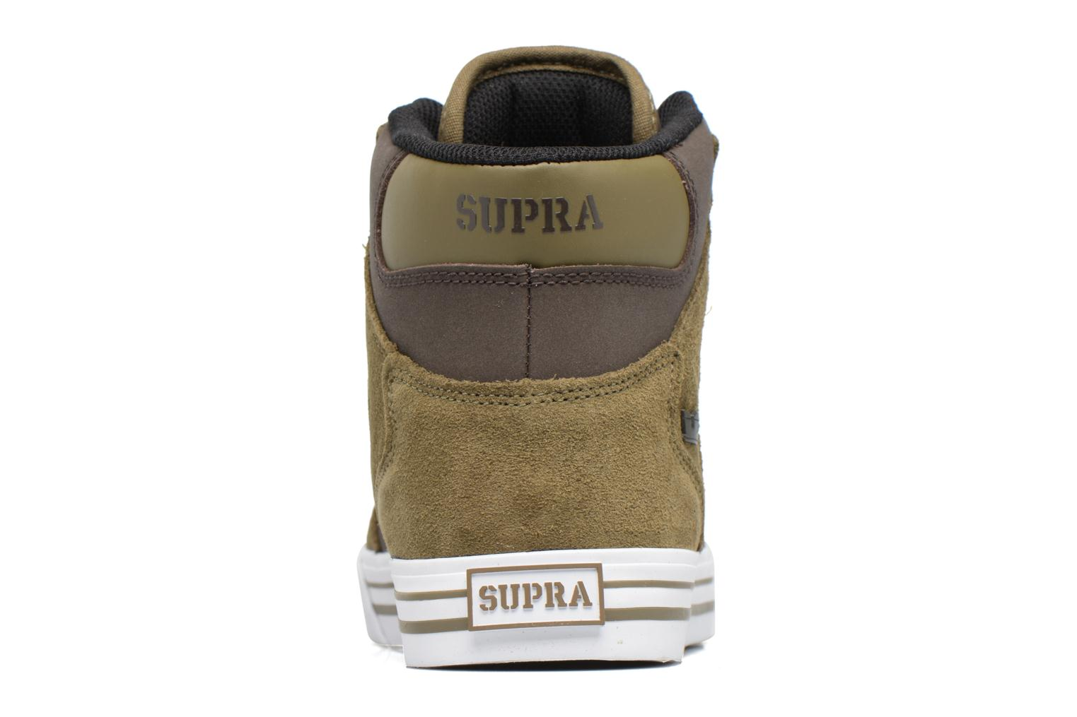 Trainers Supra Vaider Green view from the right