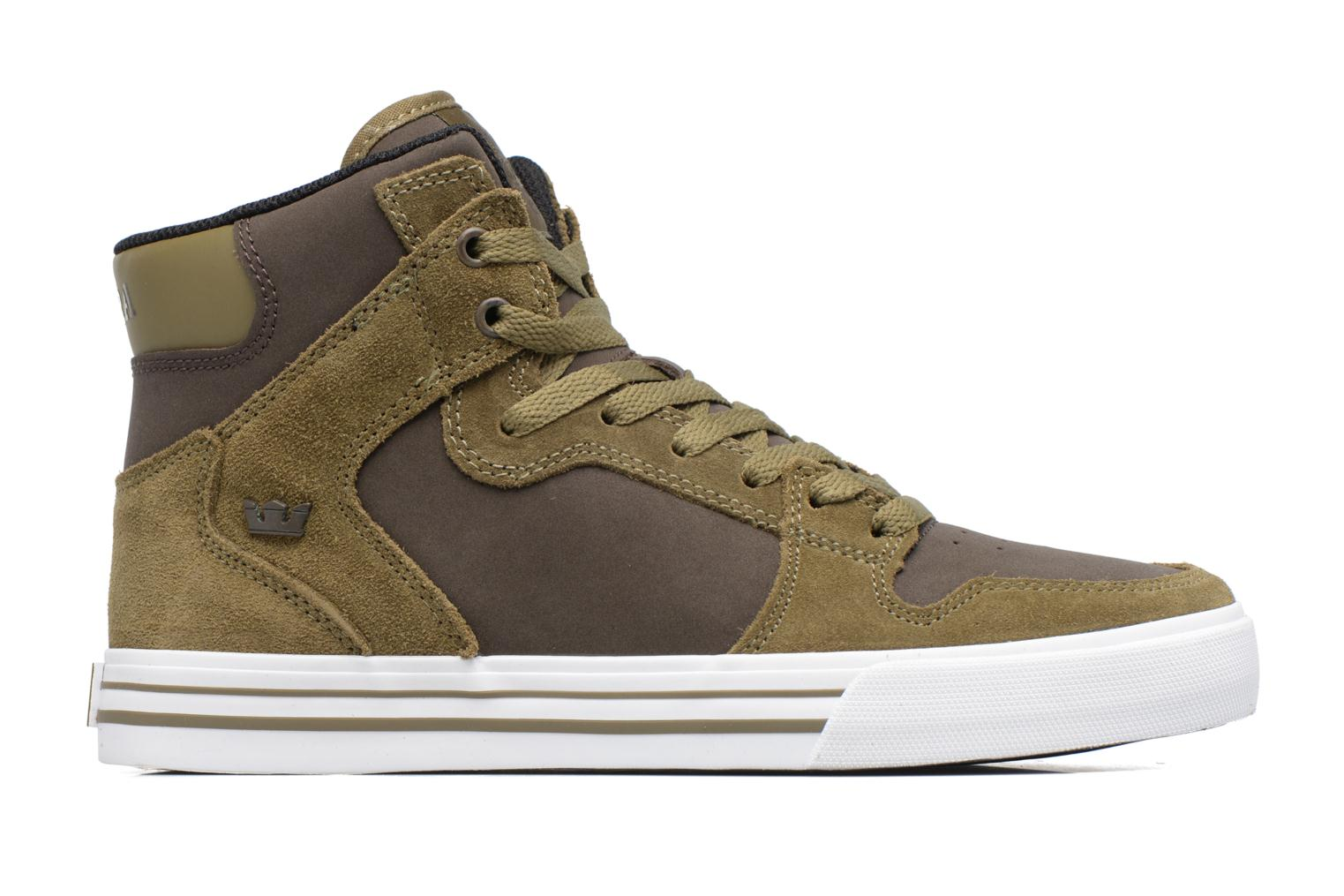 Trainers Supra Vaider Green back view