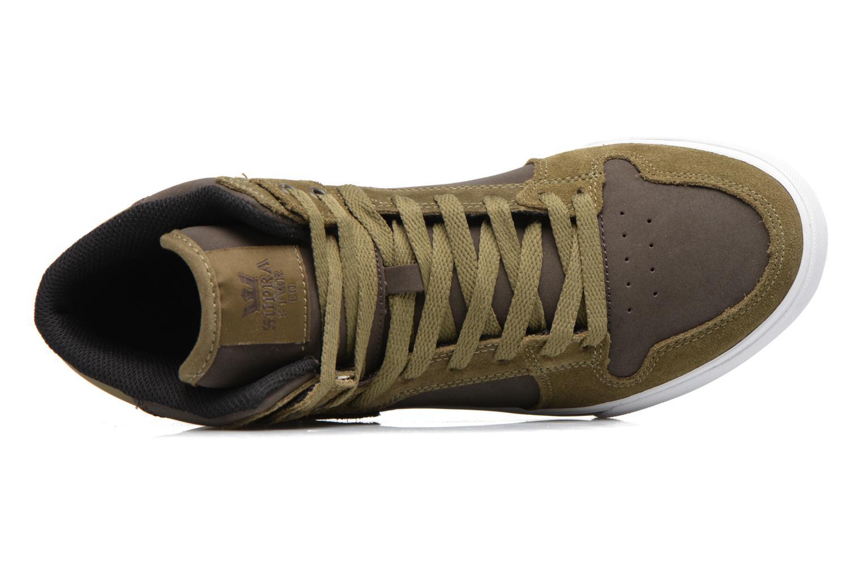 Sneakers Supra Vaider Grøn se fra venstre