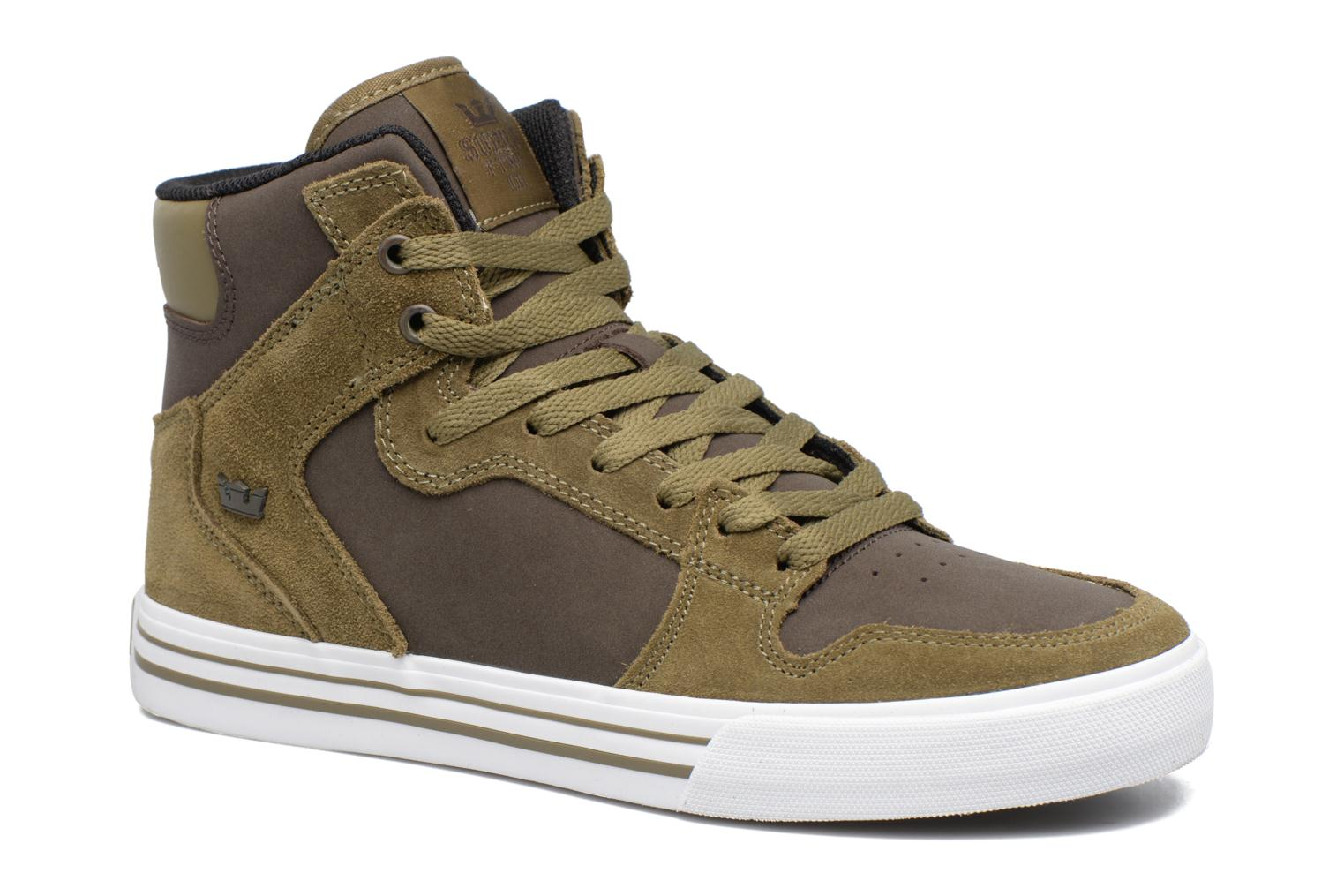 Trainers Supra Vaider Green detailed view/ Pair view
