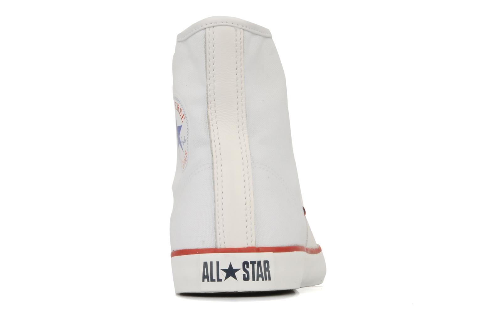 Sneakers Converse Chuch Taylor lady Canvas Hi Bianco immagine destra
