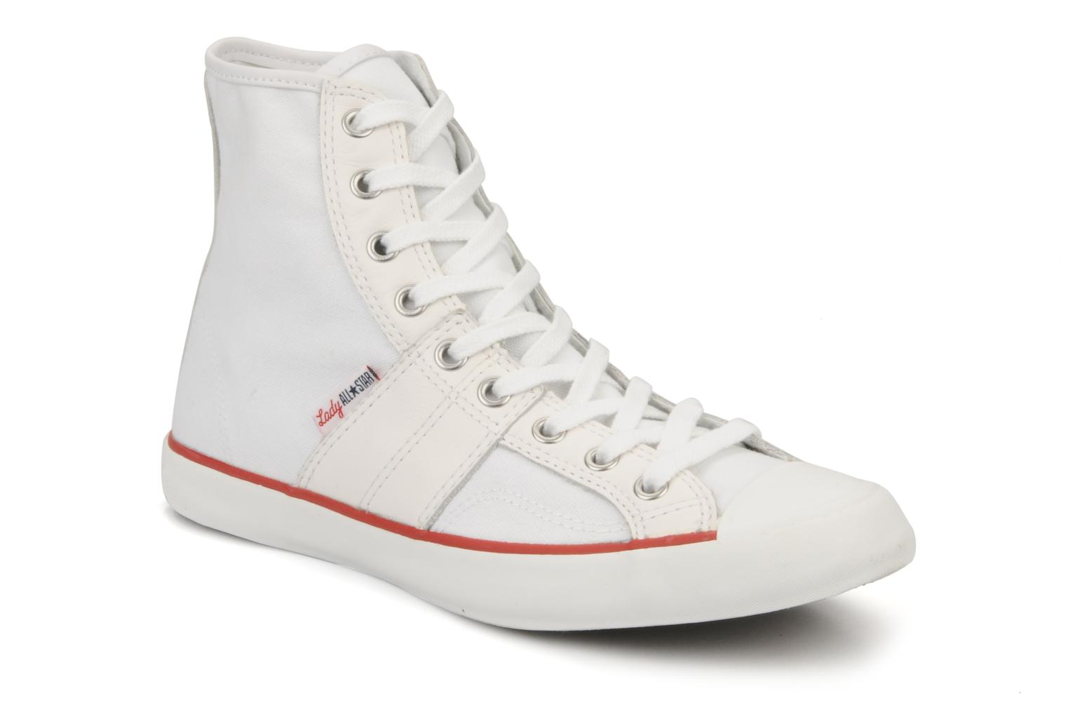 Chuch Taylor lady Canvas Hi Blanc