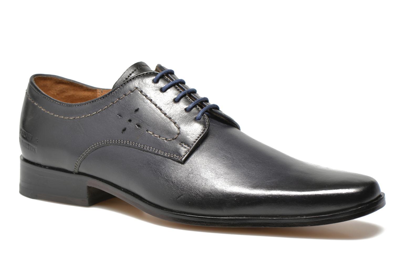 Zapatos con cordones Melvin & Hamilton Smith 2 Azul vista de detalle / par